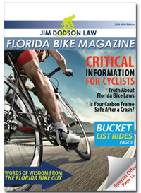 The Florida Bike eMagazine Contains Helpful Information About Florida Cycling