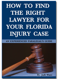 Do You Need an Attorney and Don't Know How to Find the Right Lawyer for Your Florida Injury Case?