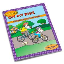 Get a Free I'm Safe! On My Bike Coloring & Activity Book