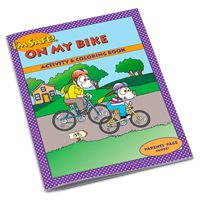 I'm Safe! On My Bike Coloring & Activity Book