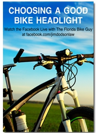 Information on Choosing a Good Bike Headlight
