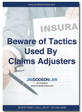 Beware of Tactics Used By Claims Adjusters