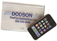 Jim Dodson Law Waterproof Cell Phone Case