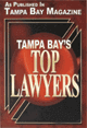 Tampa Bay Magazine Top Lawyers Badge Recognizing Jim Dodson Law Firm